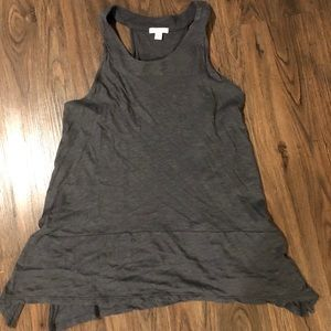 Gap asymmetrical tank top